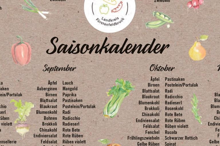 Saisonkalender zum Download
